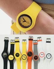 7074 - カラー配色ゼリー時計<br> (8 color) <br>