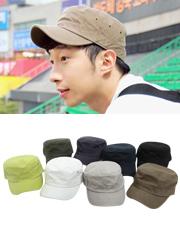 7624 - シンプル調節軍帽<br> (8 color) <br>