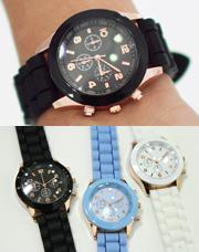 7678 - ウィットのあるゼリー時計<br> (3 color) <br>