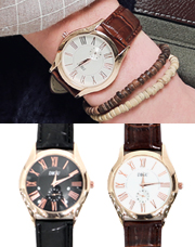 14220 - ローズゴールドの腕時計<br> (2 color) <br>