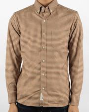 16693 - 残高部屋チェックシャツ<BR> (3 size) <br>