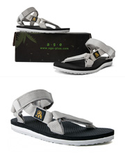 17291 - [AGE] <br>エイジサンダルGRY(Age Core Sandal) <br> age-s-15-013