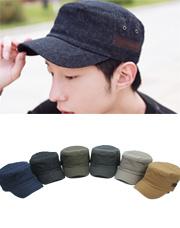 5953 - シンプルバンディング軍帽<br> (6 color) <br>
