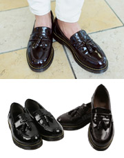 18305 - <b>5cm身長靴</b> <br>寀ー有光タッセルローファー<br> (10 mm) <br>