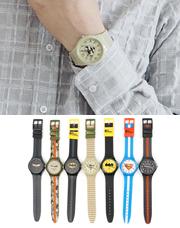 18397 - WBバットマン時計<br> (7 color) <br>