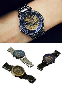 18926 - オートマチックフレーム時計<br> (3 color) <br>