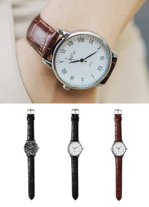 19285 - ロンドンクラシックレザー腕時計<br>