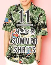 19718 - サマーシャツ<br>ハワイアンシャツ11種モウムジョン<br> (11 type) <br>