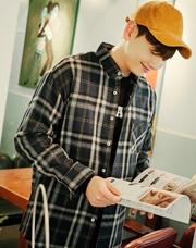 20529 - フランネルクロスチェックシャツ<br> (1 size) <br>