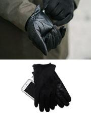 20630 - ジッパースエードタッチ手袋<br> (1 color) <br>
