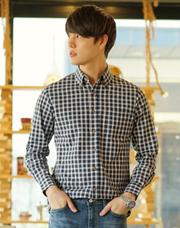 20933 - ミニマルチェックシャツ<br> (4 size) <br>