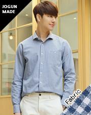 21112 - アッシュ・デ・スモールチェックシャツ<br> (3 size) <br>