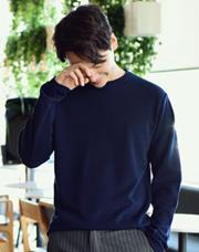 21122 - フレッシュワッフル長袖Tシャツ<br> (1 size) <br>