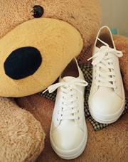 21268 - <b>4cm身長靴</b> <br>ケビンラウンドスニーカー<br> (5 mm) <br>