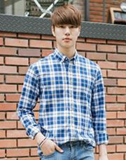 21420 - ローレンカジュアルチェックシャツ<br> (3 size) <br>
