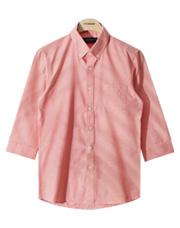 15022 - クレヨン7部オックスフォードシャツ★ <br> (4 size) <br>
