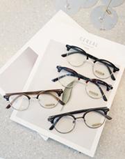 22790 - デリーパイ半縁なし眼鏡</br>