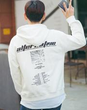 23552 - 今年デーオーバーフィットフードティーシャツ<br> <font style=font-size:11px;color:#595959>Free(95〜105)</font> <br>