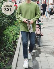 23528 - コーディネートSET83ティーシャツ+デニム<br> <font style=font-size:11px;color:#595959>M〜3XL(95〜115)</font> <br>
