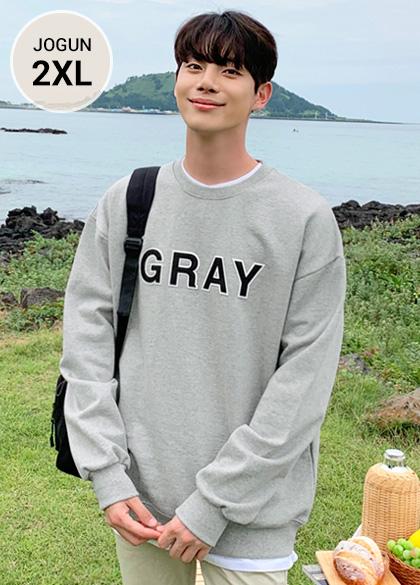 25075 - カラーネーム刺繍ヘビースウェットシャツ<br> <font style=font-size:11px;color:#595959>M〜2XL(95〜110)</font> <br>